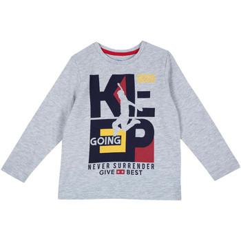 Abbigliamento Unisex bambino T-shirts a maniche lunghe Chicco 09006867000000 Grigio