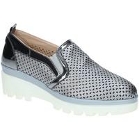 Scarpe Donna Mocassini Grace Shoes J306 Grigio