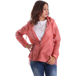 Abbigliamento Donna giacca a vento Fornarina BE173C30N29968 Rosa