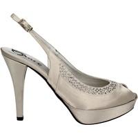 Scarpe Donna Sandali Grace Shoes 2046 Argento