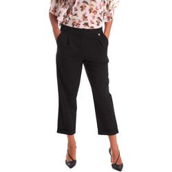 Abbigliamento Donna Chino Y Not? 17PEY066 Nero