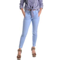 Abbigliamento Donna Chino Fornarina BE171L74G29118 Blu