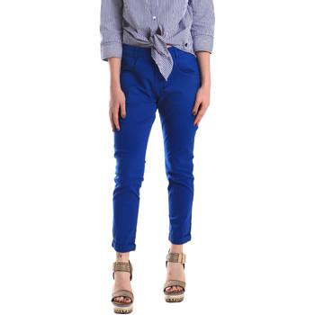 Abbigliamento Donna Chino Fornarina BE171L75G29112 Blu