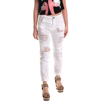 Abbigliamento Donna Jeans boyfriend Fornarina BE171L94D877KM Bianco