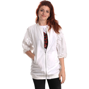 Abbigliamento Donna giacca a vento Fornarina BE173C31N30009 Bianco