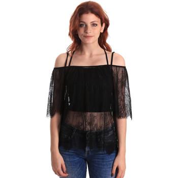 Abbigliamento Donna Top / Blusa Fornarina BE174575H26700 Nero