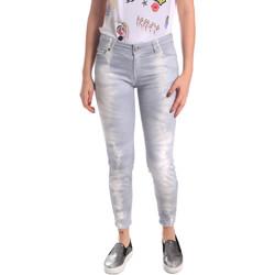 Abbigliamento Donna Jeans boyfriend Fornarina BER1L01D851GD Grigio