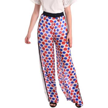 Abbigliamento Donna Pantaloni morbidi / Pantaloni alla zuava Fornarina SE171L91CA0676 Bianco