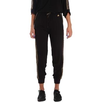 Abbigliamento Donna Pantaloni da tuta Fornarina SE171L96C99700 Nero