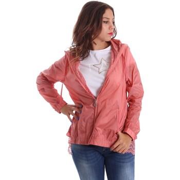 Abbigliamento Donna giacca a vento Fornarina SE173C30N29968 Rosa