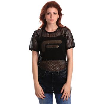 Abbigliamento Donna Top / Blusa Fornarina SE175J69H26600 Nero