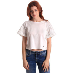 Abbigliamento Donna Top / Blusa Fornarina SE175J88JG1309 Bianco