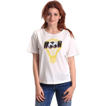 Abbigliamento Donna T-shirt maniche corte Fornarina SE175L27JG1608 Bianco