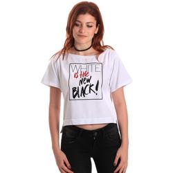 Abbigliamento Donna T-shirt maniche corte Fornarina SE175L28JG0709 Bianco
