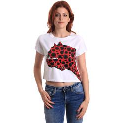 Abbigliamento Donna T-shirt maniche corte Fornarina SE175L32JG0709 Rosso