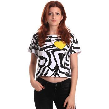 Abbigliamento Donna T-shirt maniche corte Fornarina SE175L35JG0700 Nero