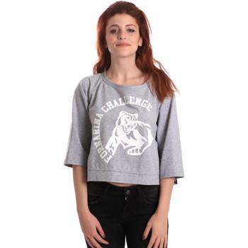 Abbigliamento Donna Felpe Fornarina SE176841F42706 Grigio
