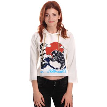 Abbigliamento Donna Felpe Fornarina SE176842F42709 Bianco