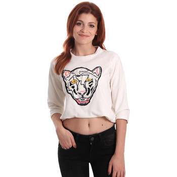 Abbigliamento Donna Felpe Fornarina SE176844F42709 Bianco