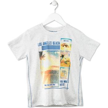 Abbigliamento Unisex bambino T-shirt maniche corte Losan 713 1021AA Grigio