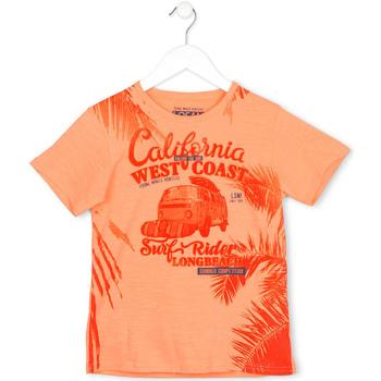 Abbigliamento Unisex bambino T-shirt maniche corte Losan 713 1022AA Arancio