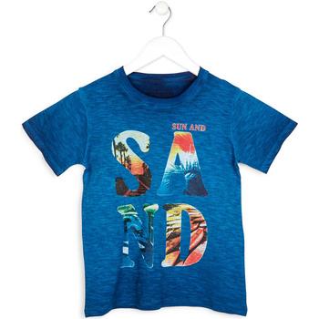 Abbigliamento Bambino T-shirt maniche corte Losan 713 1023AA Blu