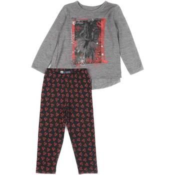 Abbigliamento Bambina Completo Losan 626 8016AD Grigio