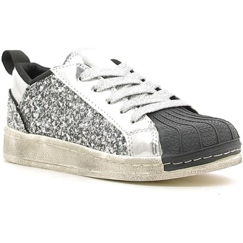 Scarpe Unisex bambino Sneakers basse Holalà HS030001S Argento