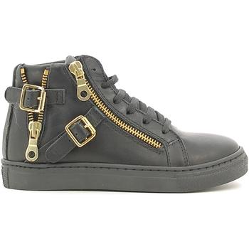 Scarpe Unisex bambino Sneakers alte Holalà HS050007L Nero