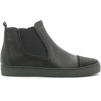 Scarpe Unisex bambino Sneakers alte Holalà HS050008L Nero