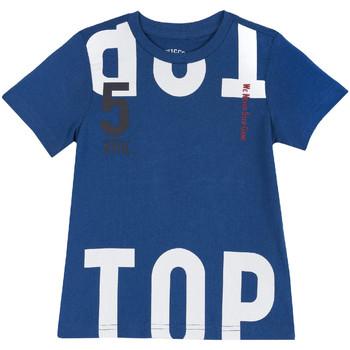Abbigliamento Unisex bambino T-shirt maniche corte Chicco 09006586000000 Blu