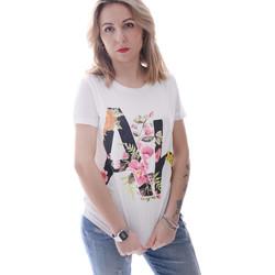 Abbigliamento Donna T-shirt maniche corte Fracomina FR20SP368 Bianco