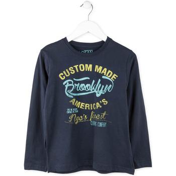 Abbigliamento Bambino T-shirts a maniche lunghe Losan 713 1202AA Blu
