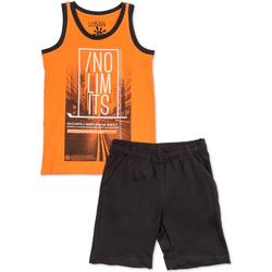 Abbigliamento Bambino Completo Losan 713 8044AA Arancio