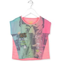 Abbigliamento Bambina T-shirt maniche corte Losan 714 1017AB Rosa