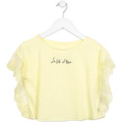 Abbigliamento Bambina Top / Blusa Losan 714 1032AB Giallo