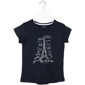 Abbigliamento Bambina T-shirt maniche corte Losan 714 1210AB Blu