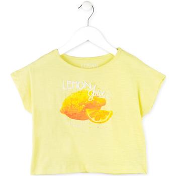 Abbigliamento Bambina T-shirt maniche corte Losan 714 1211AB Giallo