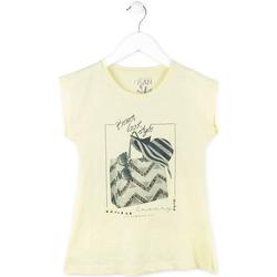 Abbigliamento Bambina T-shirt maniche corte Losan 714 1212AB Giallo