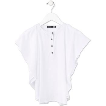 Abbigliamento Bambina Top / Blusa Losan 714 3002AB Bianco