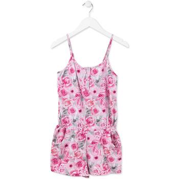 Abbigliamento Bambina Tuta jumpsuit / Salopette Losan 714 7008AB Rosa