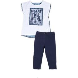 Abbigliamento Bambina Completo Losan 714 8002AB Blu
