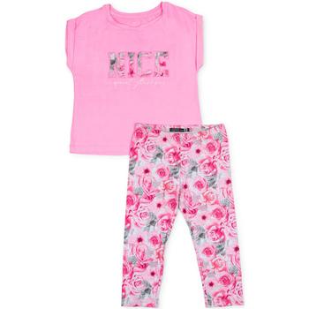 Abbigliamento Bambina Completo Losan 714 8004AB Rosa