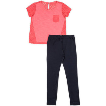 Abbigliamento Bambina Completo Losan 714 8008AB Rosa