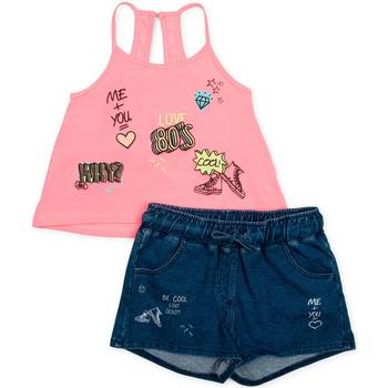 Abbigliamento Bambina Completo Losan 714 8010AB Rosa