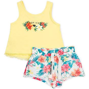 Abbigliamento Bambina Completo Losan 714 8016AB Giallo