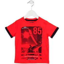Abbigliamento Bambino T-shirt maniche corte Losan 715 1001AC Rosso