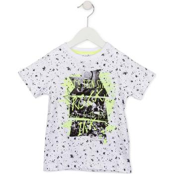 Abbigliamento Unisex bambino T-shirt maniche corte Losan 715 1008AC Bianco