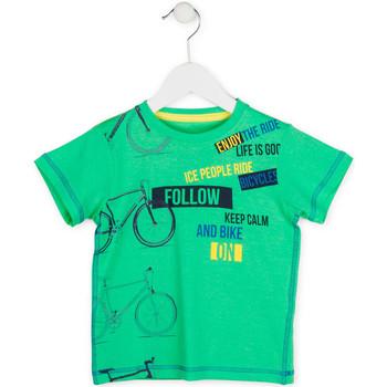 Abbigliamento Bambino T-shirt maniche corte Losan 715 1014AC Verde
