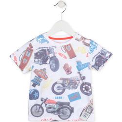 Abbigliamento Bambino T-shirt maniche corte Losan 715 1017AC Bianco